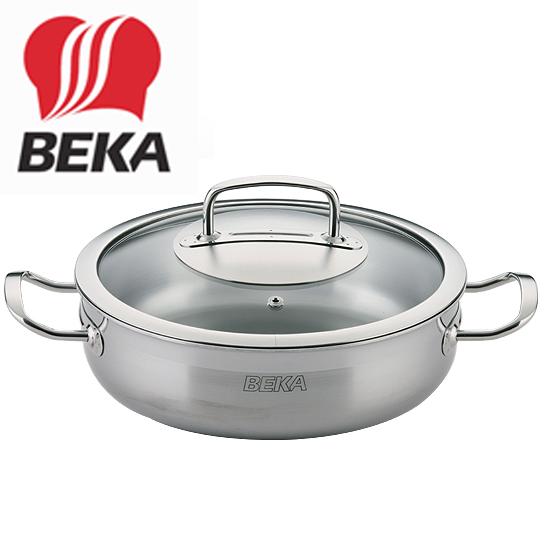 [셰프라인] BEKA 전골냄비 24cm (유리뚜껑)